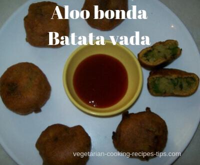 Aloo bonda - Batata vada