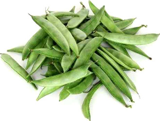 flat beans - broad beans - vaal papdi
