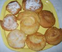 chiroti - chirote - Indian flakey pastry