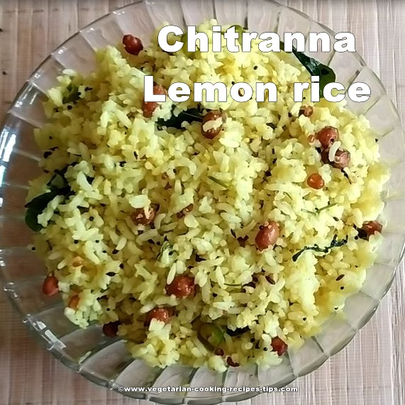 chitranna-lime-lemon rice