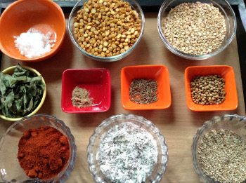 dal chutney pudi ingredients