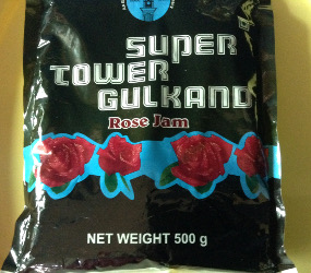 gulkand - rose jam packet