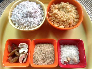 ingredients for khuskhus kheer