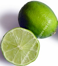 lime - cut in half