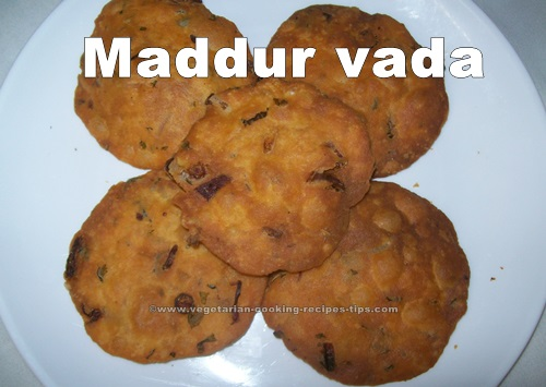 Maddur vade ready to eat