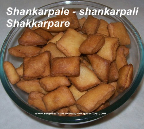 Ready to eat shankarpale - Shakkarpara
