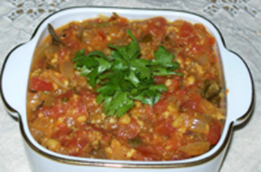 Tomato curry - Tomato gojju