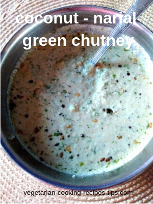coconut narial green chutney