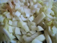 white onion diced
