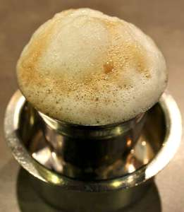 South Indian Filter coffee  - drip coffee
