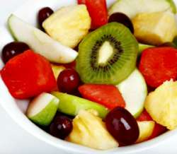 Fruit Chaat - fruit snack