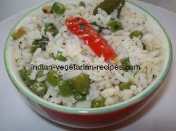 Green bean rice