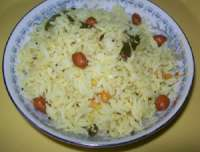 Lemon rice, lime rice, chitranna