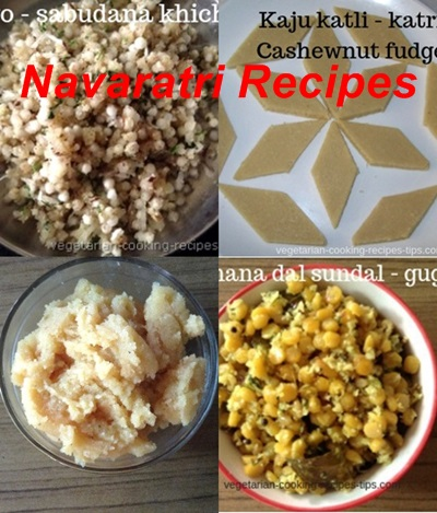 Dassehra - Navaratri recipes