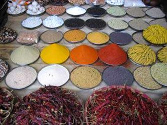 Indian Spice shop